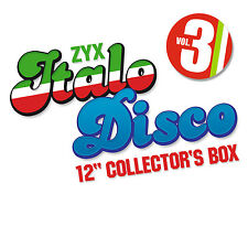 CD Italo Disco 12 Inch Collector s Box 3 von Various Artists 10CDs