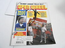 AUG 1989 OPEN WHEEL vintage car racing magazine