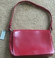 Kenneth Cole Reaction Strap Shoulder Bag Purse RED  ( NEW )