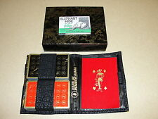 Playing Cards: Bank of Pennsylvania 2 deck Bridge set w/ Vitron Case 1970s New