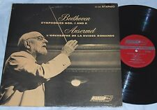 ANSERMET BEETHOVEN SYMPH. 1 + 8 LONDON FFRR CS 6388 STEREO LP
