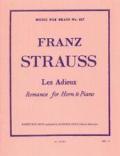 Strauss: les Adieux-Romance De Cuerno Y Piano al28580