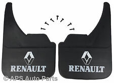 Universal Car Mudflaps Front Rear Renault Logo Twingo Vel Satis Mud Flap Guard