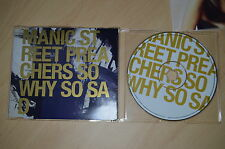 Manic street preachers - So why so sad. CD-Single (CP1708)