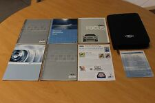 2007 Ford Focus Owner's Manual Set With Case