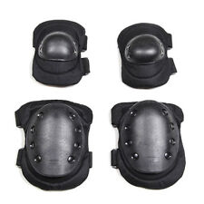 Protective Sports Airsoft Tactical Black Knee pads And Elbow pads Sets