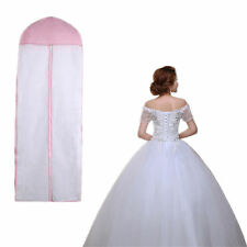 "61"" Breathable Wedding Prom Dress Garment Clothes Cover Dustproof Bag Zip"
