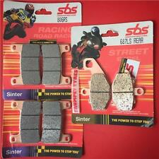 KAWASAKI Z 1000 SX 2011   14   Front & Rear Set Brake Pads SBS RACE SINTER