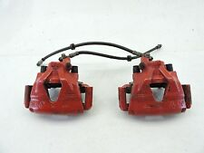 MK4 VW GTI GLI RED BIG BRAKES FRONT LEFT RIGHT SIDE CALIPER PAIR FACTORY -518