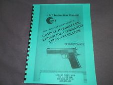 AMT HARDBALLER  45acp  1911, INSTRUCTION MANUAL,   15 Pages