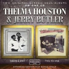 Thelma & Jerry/Two To One - Thelma & Jerry Butler Houston (2013, CD NIEUW)