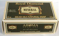 DEAD SEA Mineral Rich Cleansing SOAP Bar Natural Mud Salts Face & Body Skin Care
