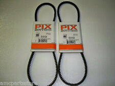 Set of Two, Pix Belts Made With Kevlar Replace MTD Belt 754-0430A, 954-0430B