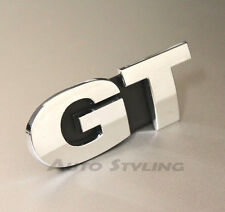 GT Grill Badge Emblem VW Golf Scirocco Passat CC Chrome Sport Car MK4 5 6 7 19g