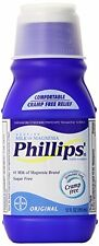 2 Pack - Phillips' Original Milk of Magnesia Liquid, 12 fl oz (355 mL) Each