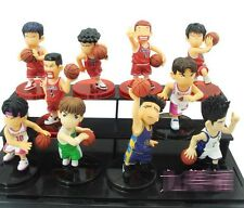 Slam Dunk Figure Set 10 Basketball Pvc Sakuragi Hanamichi Collection Inoue Anime