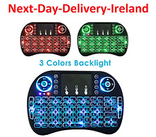 i8 2.4GHz USB Wireless Backlit Keyboard Keypad Touchpad for Android & Windows TV