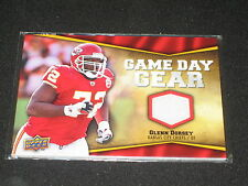GLENN DORSEY CHIEFS 2009 GAME DAY PACK PULLED UPPER DECK CERTIFIED JERSEY CARD