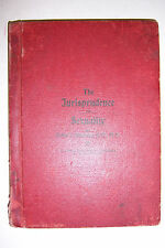 JURISPRUDENCE OF SEXUALITY By Rollin C. Blackmer. Climate Publishing Co., 1900