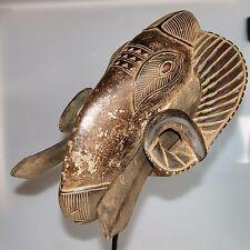Baule/Baoule Zoomorphic Ram Mask