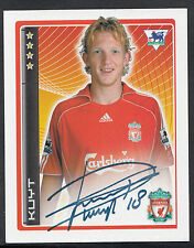 Merlin Football Sticker - 2007 Premier League - No 227 - Liverpool - Kuyt