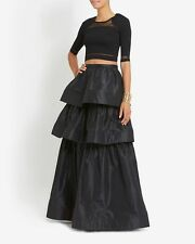 OHNE TITEL SHEER PANEL CROP TOP SMALL