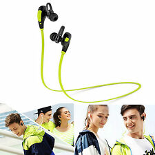 Sports Wireless bluetooth stereo headphone Earbud For Samsung Galaxy S4 S IV S3