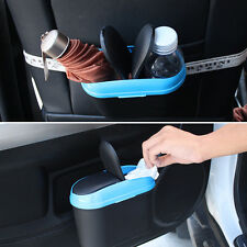Mini Dust Box Case Car Trash Bin Hook Rubbish Garbage Holder Can for Car Office