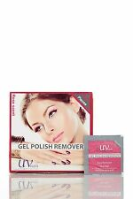 UV-NAILS Gel nail polish remover pads with acetone 200 pads - Rose Scent