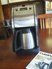 Cuisinart Grind & Brew 10-Cup Automatic Coffee Coffeemaker DCC-590 Programmable