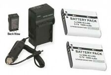 LI-50BA LI-50BB 2 Batteries + Charger for Olympus SZ-10 SZ-11 SZ-20 SZ-30MR XZ-1