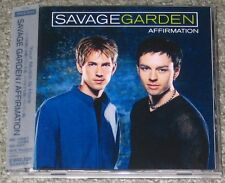 SAVAGE GARDEN Japan PROMO CD obi AFFIRMATION 12 tracks DARREN HAYES other availa