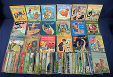 48 Vtg Little Golden Books Topsy Turvy Circus Red Hen Tootle Baby Pussy Willow +