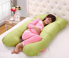 Large U Shape Contoured Body Pregnancy Nursing Maternity Pillow Cozy Comfort