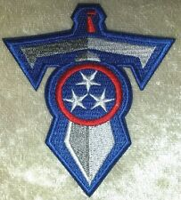 """Tennessee Titans T-Sword 3.5"""" Iron On Embroidered Patch ~USA Seller~FREE Ship"""