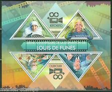 TOGO 2013  30th MEMORIAL ANNIVERSARY LOUIS de FUNES ACTOR  SHEET MINT NH