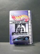 "Custom HotWheels car and package of  ""Movie Metal""  AUTOMAN from the 80' tv show"