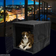 "Dog Crate Cage Kennel Pet COVER ONLY Black MidWest Quiet Time 42"" Long X-Large"