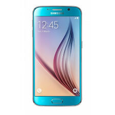 "Samsung Galaxy S6 SM-G920F 5.1"" 32GB 3GB Ram 16MP Cam Unlocked Smartphone Blue"
