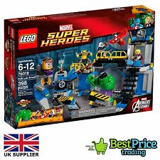 Lego Marvel Super Heroes 76018 Hulk Lab Smash *BRAND NEW & SEALED *Avengers