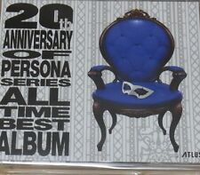 Persona5 20th Anniversary All Time Best Album CD 5 SET Persona 5 Total 137tracks