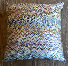 "Missoni Home John 16 x 16"" Chevron Zig Zag Cushion or Pillow, Color 170M"