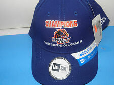 NCAA Boise State Broncos Tostitos Bowl Champs Wool Stretch Size Med-Lg Hat (NWT)