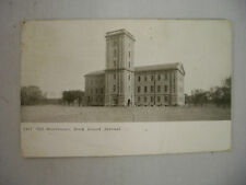 VINTAGE POSTCARD THE OLD STOREHOUSE AT THE ROCK ISLAND ARSENAL IN ILLINOIS 1909