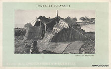 * PALESTINE - Tente de Bedouins - Edition de la Chocolateria d'Aiguebelle