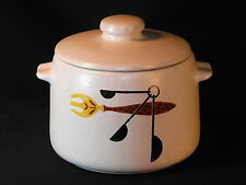 VTG WEST BEND SLOW COOKER POT STONEWARE WITH LID OLD ORIGINAL RETRO CLASSIC