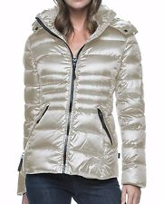 NWT Andrew Marc New York Womens XS Winter Short Down Puffer Jacket Coat Thistle