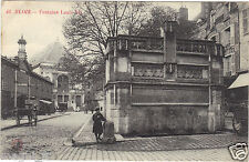 37 - cpa - BLOIS - Fontaine Louis XII