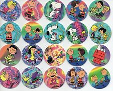 Tazos - Peanuts Playing Pogs - Complete set - Snoopy  VINTAGE RARE