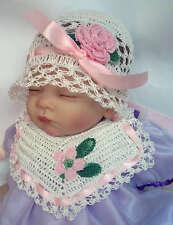 Recién nacido, premiee, Bebé Amor Nudo Sombrero/Gorra, Algodón Crochet Patrón *** ***